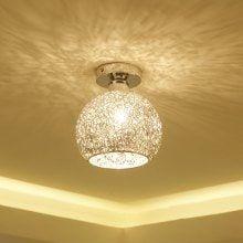 JUEJA Modern Iron Ceiling Lamp E27 Home Lights for Living Room / Dining Room / Bedroom / Balcony