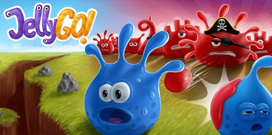 Defend the Jelly Kingdom against powerful enemies. Conquer enemy buildings, create superweapons or hold defensive forts – choose your own way to victory!