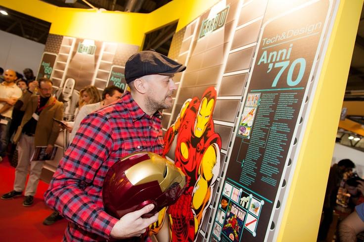 IRON MAN: 50 ANNI - #Incontro celebrativo con Max #Pezzali #Marvel #IronMan3