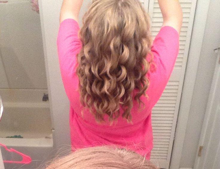 Bubble Wand Curls Wand Curls Bubble Wand Curls Long