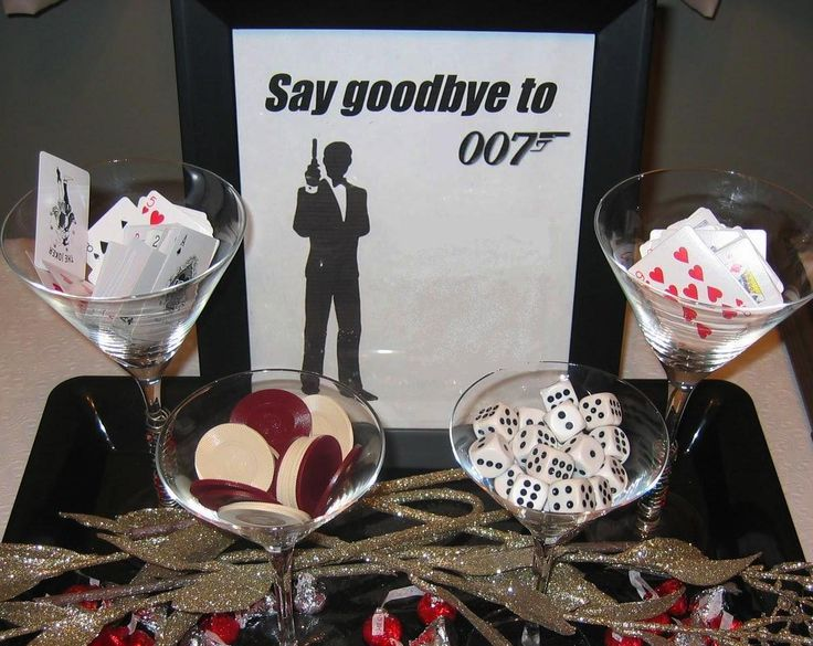 17 best images about james bond party on pinterest for 007 decoration ideas