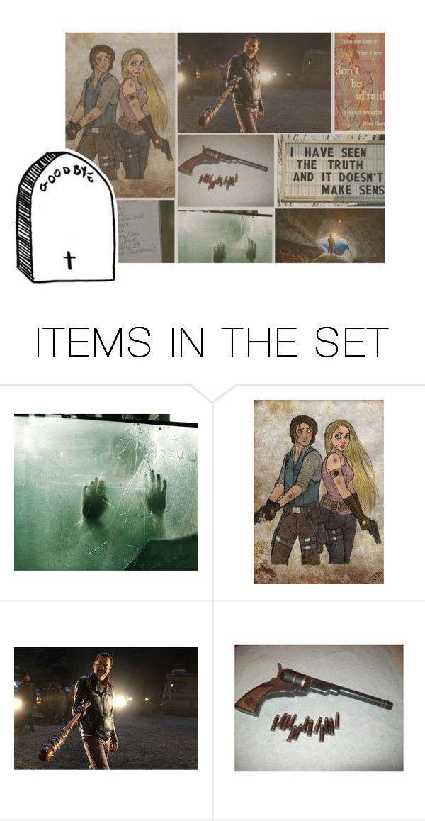 """Disney in the Apocalypse - for Zombies and Survival"" by just-a-bunch-of-squints ❤ liked on Polyvore featuring art"