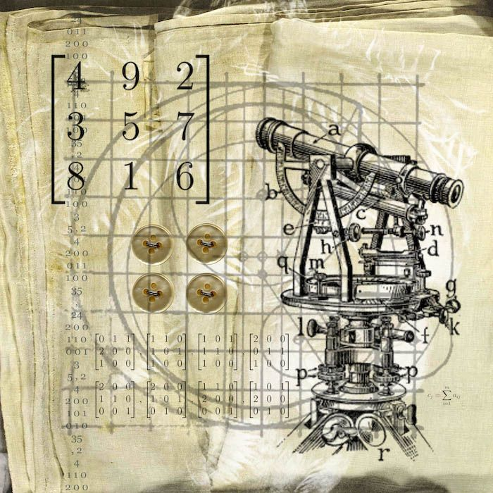 Plans Diagrams No 3 Digital Collage By Tricia Mckellar Number Games Mckellar Digital Collage