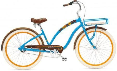 Mijn beachcruiser Surf Blue Ocean van Electra. Met stip de mooiste fiets van Son!