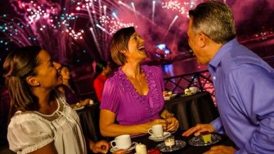 Disney adds IllumiNations Sparkling Dessert Party for enjoying the Epcot fireworks!