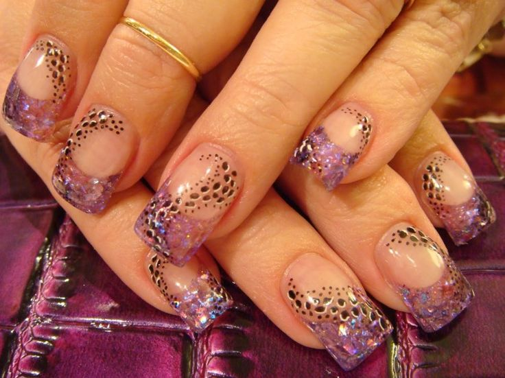 27 best coolest wedding nail art ideas images on pinterest cute purple nail design for wedding pictures photos images prinsesfo Gallery