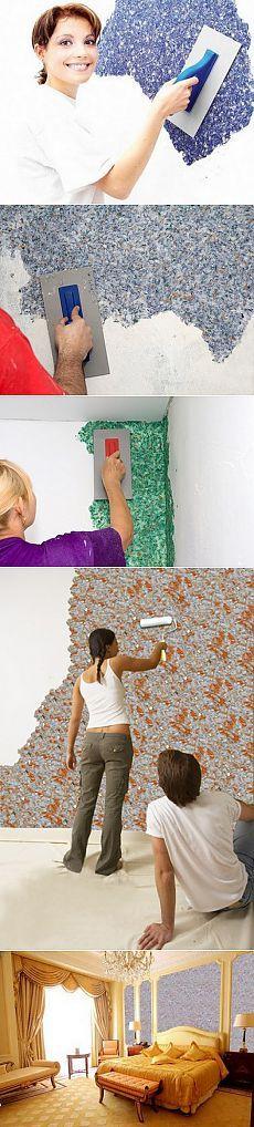 Eğer sıvı duvar kağıdı uygulamak için nasıl biliyor musunuz?