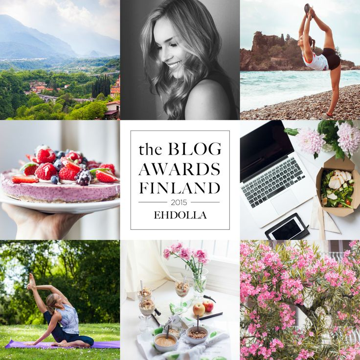 blog awards nominated