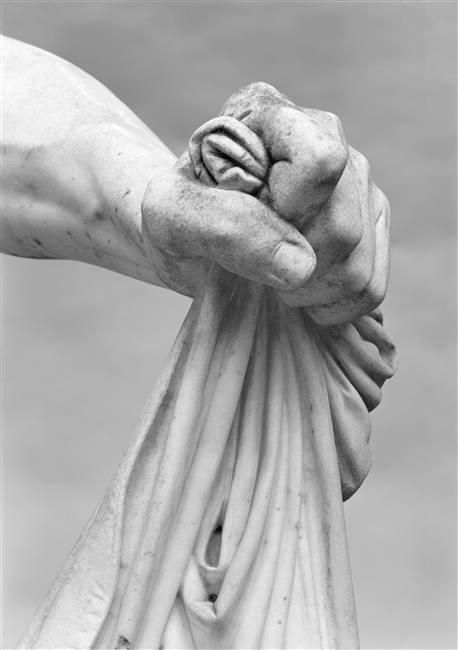 Marble sculpture detail