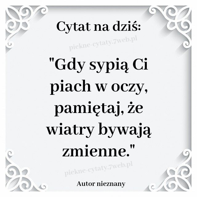 Cytat Na Dzis In 2020 Romantic Quotes For Her Meaningful Quotes Bible Motivation