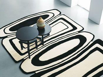 Zwart/wit tapijt - vtwonen