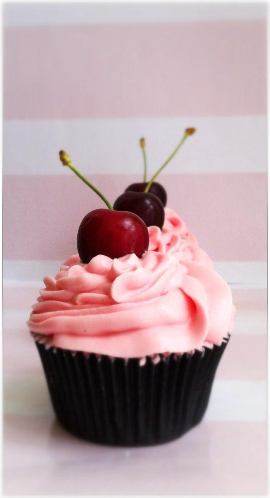 Cupcakes de Cereza con Kirsch