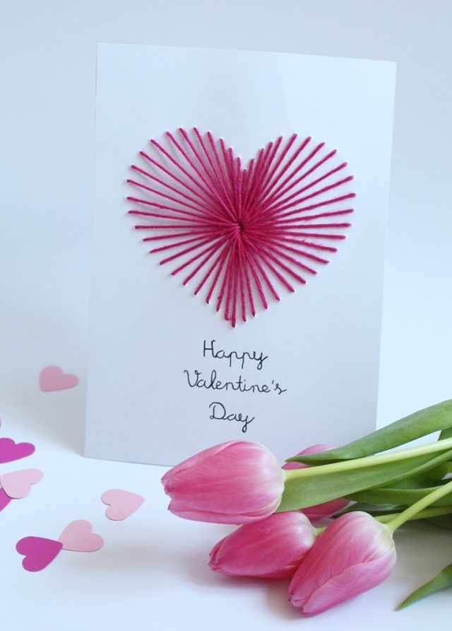 DIY: Valentineu0027s Day Cards | Do It Yourself: Karten Zum Valentinstag Selbst  Machen
