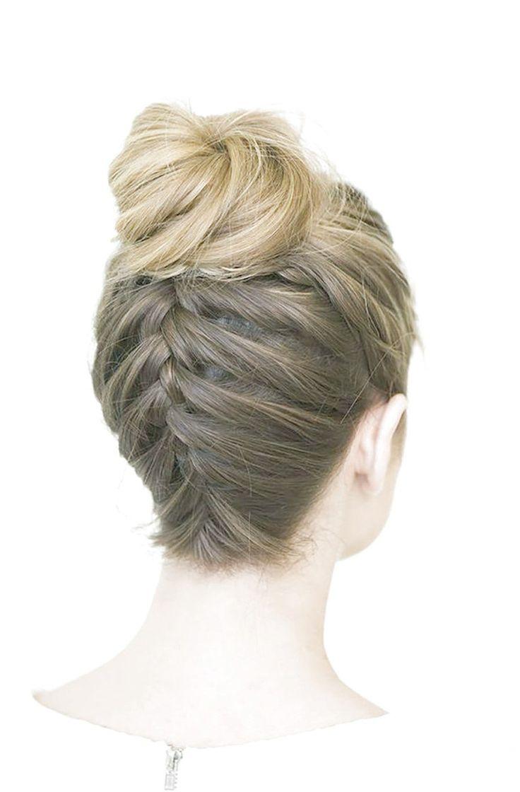 6 Easy & Pretty Prom Hairstyles | Braids for medium length ...