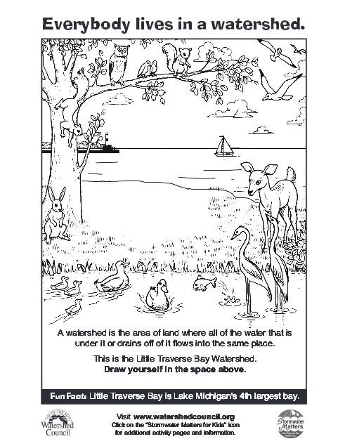 watershed coloring pages - photo#2
