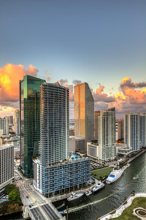 Miami Bayside Photograph by Nick Shirghio - Miami Bayside Fine Art Prints and Posters for Sale