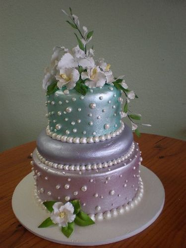 aqua blue wedding cake designs 25 best images about lovely cakes on ribbon 10807