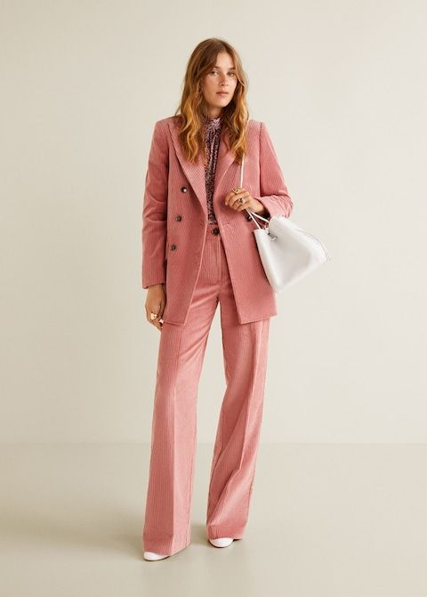 Veste structurée velours côtelé - Femme   Wishlist   Pinterest ... d39be812f902