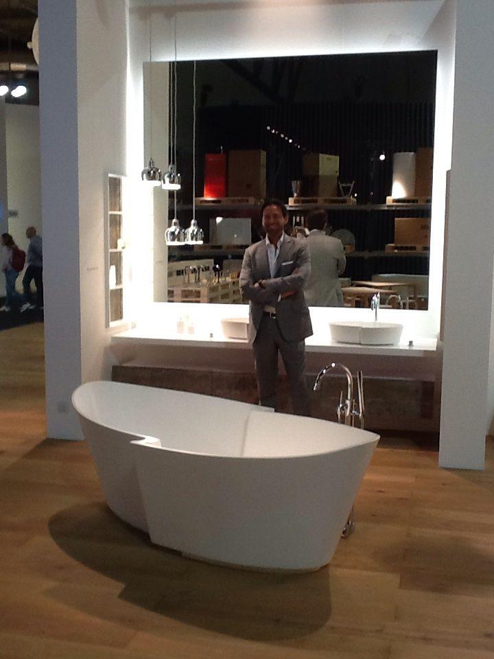 Design and designer! Matteo Nunziati with his Fidia collection for Rapsel! Salone Del Mobile 2016