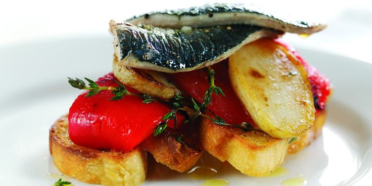 Grilled Sardines Recipe With Foccacia Bread - Great British Chefs