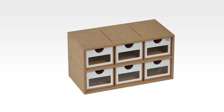 Drawers Module with 6 drawers (OM01) - perfect to organize your work place by AllScalesModels on Etsy