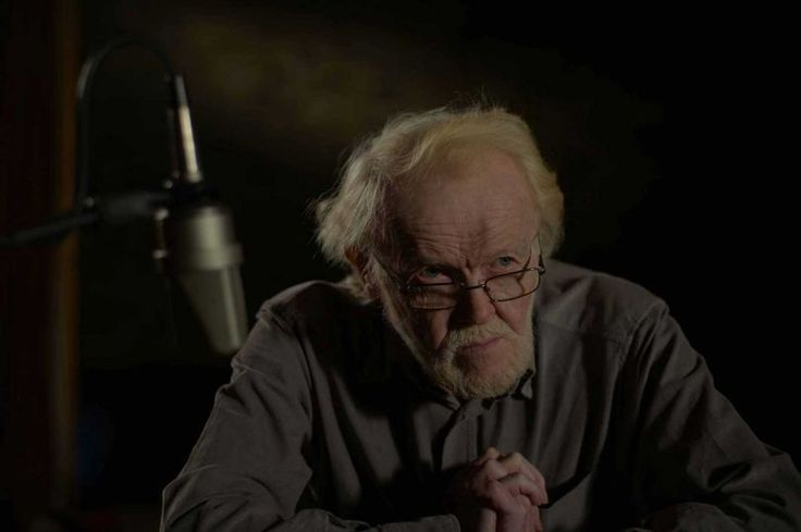 Poet Gerallt Lloyd Owen, still from the S4C documentary Gerallt which won top award at the 2014 Celtic Media Festival