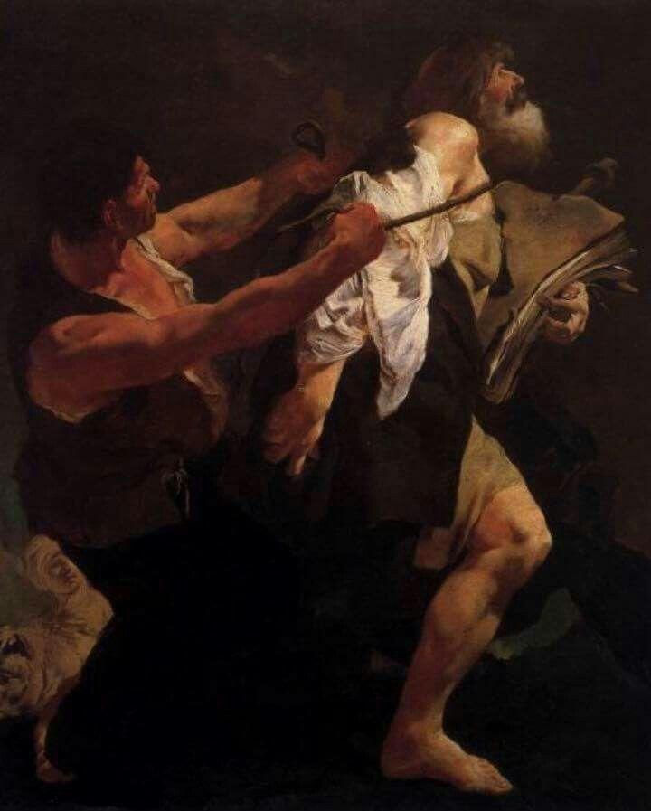 San Giacomo condotto al martirio. 1711. San Stae