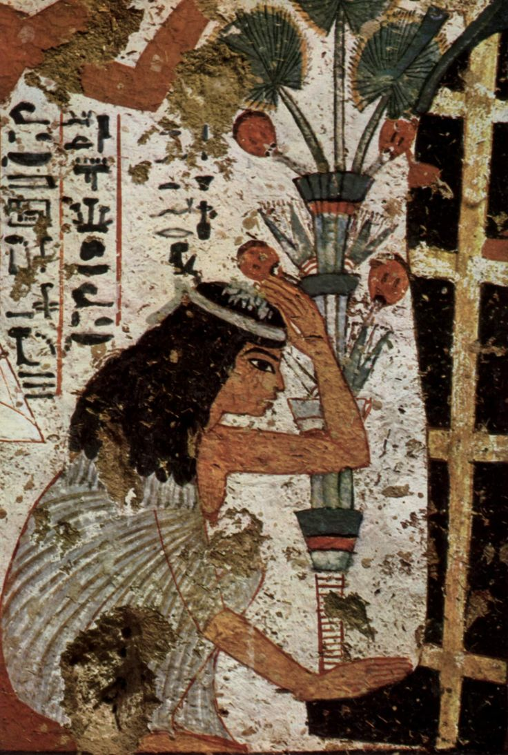 Tomb of Nebamun,detail Egypt