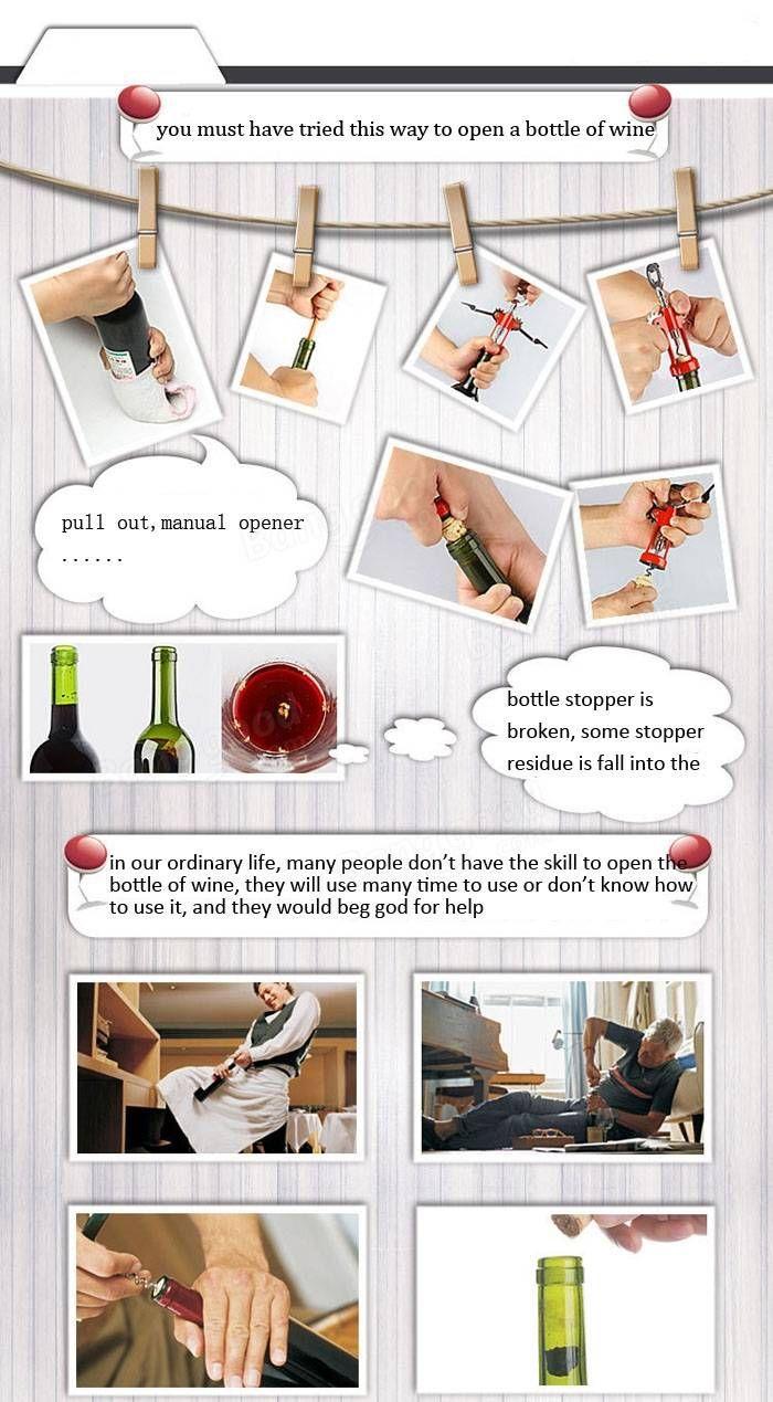 Automatic Wine Opener Automatic Electric Wine Bottle Opener