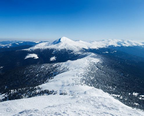 mountain landscape winter - Google Search