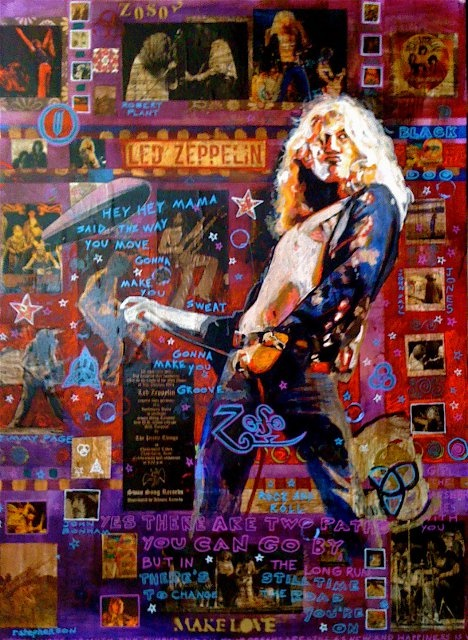 56 Best Rock And Roll Paintings By Ray Stephenson Images