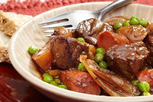 Ragoût de bœuf à la mijoteuse - Une idée simple et réjouissante pour un soir d'hiver !