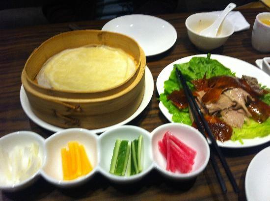 Empire City Roast Duck Restaurant Roast Duck & Pancake Wraps