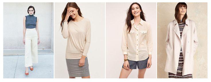 Базовая одежда белого цвета