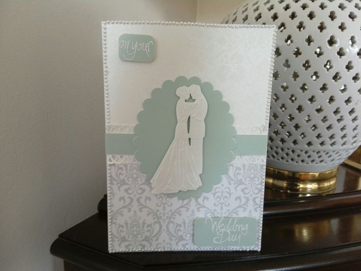 Wedding day card by D&E Designs