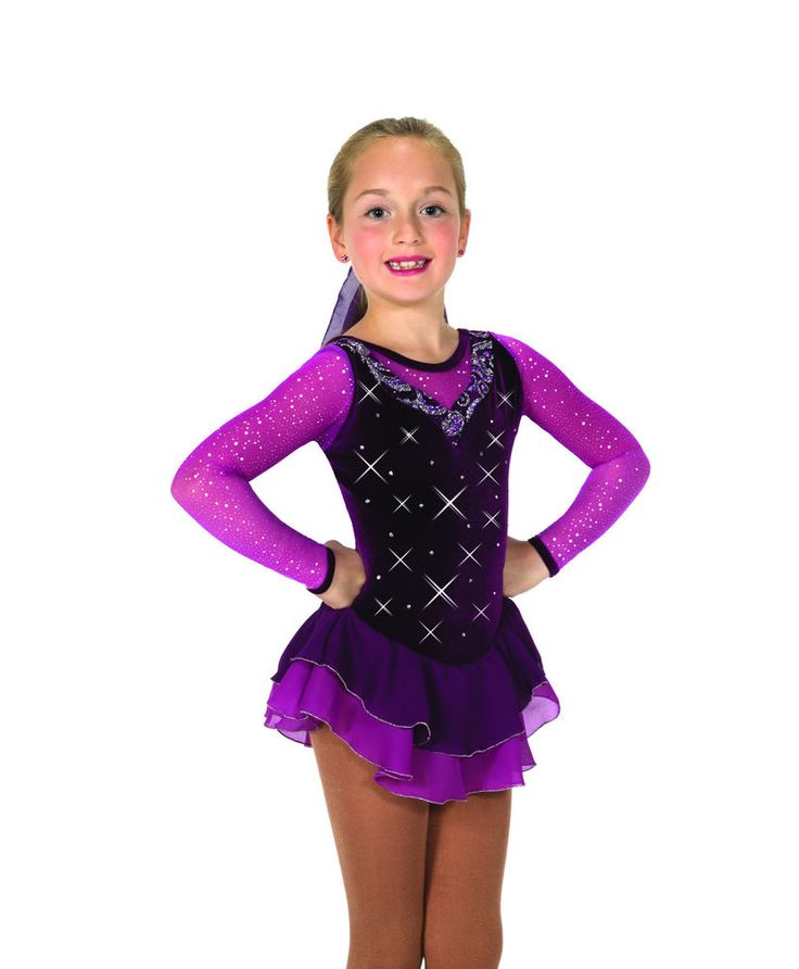 New Jerrys Competition Skating Dress 43 Port At Court Made on Order | eBay