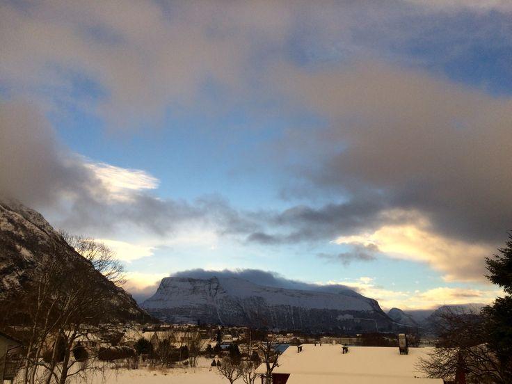 Зима в Норвегии ❄️