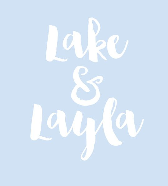 Lake & Layla - Baby Names That Are Perfect for Twins - Photos