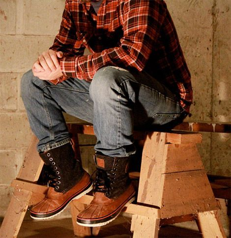 sorel 1964 premium mens boots | think these claim to be suitable for temperatures down to forty below.