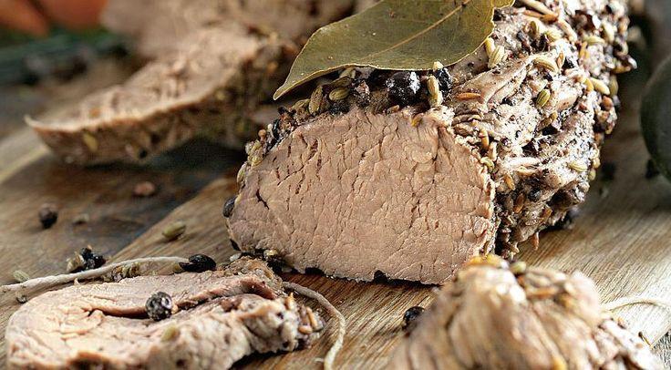 Говяжья вырезка в пряностях