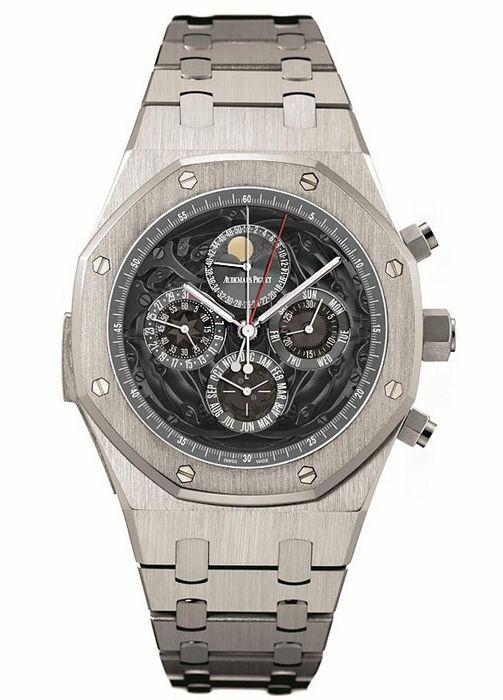 Audemars Piguet Royal Oak Multi-Function Automatic Platinum Mens Watch 26551PT.OO.1238PT.01