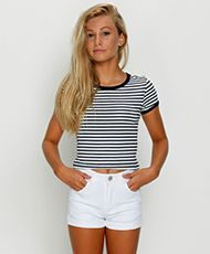 Used Girls Coloured Light Shorts