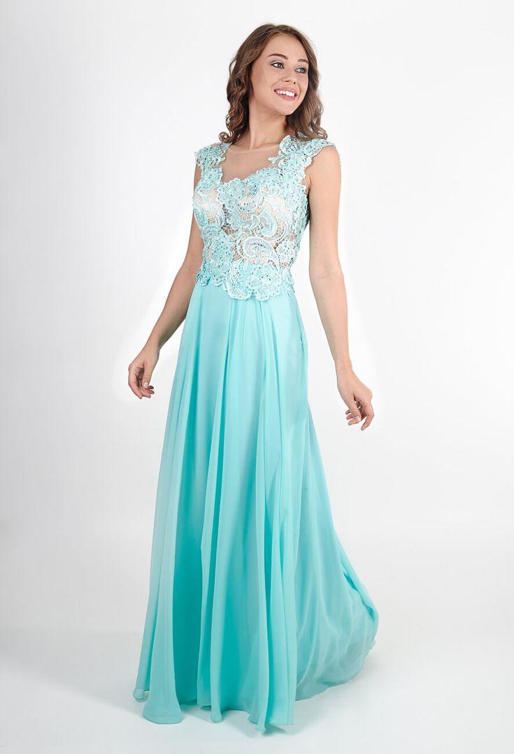 Красивые длинные шифоновые платья | Beautiful long chiffon dresses