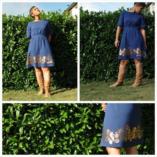 Little Blue Lotte Martens Dress