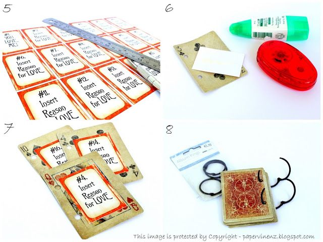 """PaperVine: """"52 Reasons I Love You"""" Cards Tutorial"""