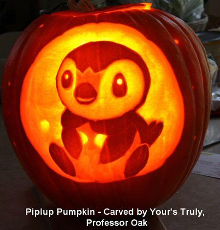 Pokémon Pumpkin to carve