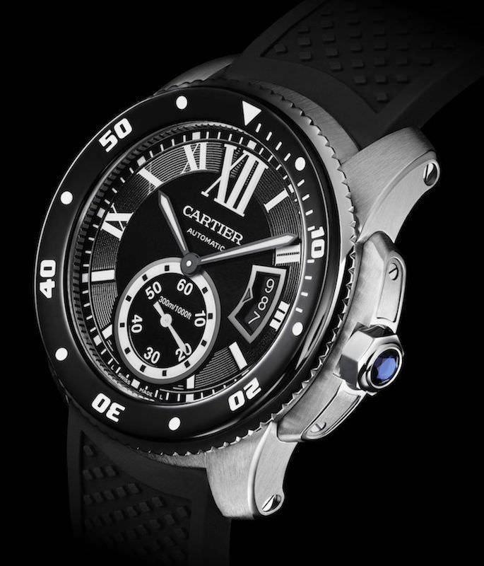montre homme Cartier-montre-de-plongee-Calibre-Diver