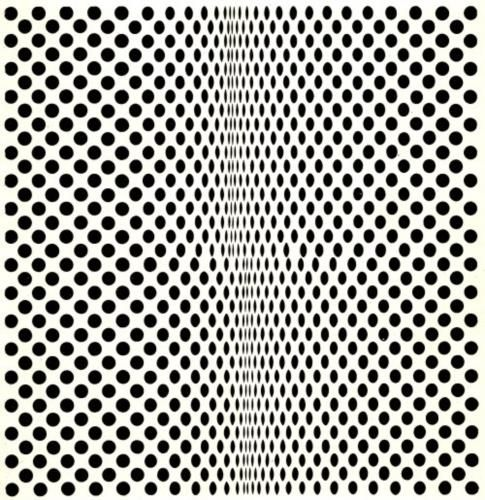 Fission - Bridget Riley