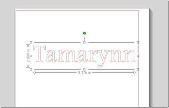 Silhouette Tutorial: {How to get Fonts/Images the EXACT size you want}