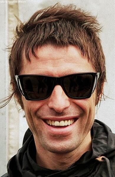 He is the most gorgeous man in the entire universe (well, him and his brother...) Liam Gallagher can do no wrong.